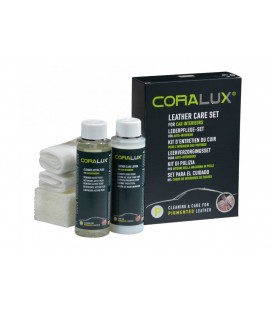 Coralux Leather Care set