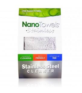 NanoTowels šluostė nerūdijančiam plienui valyti