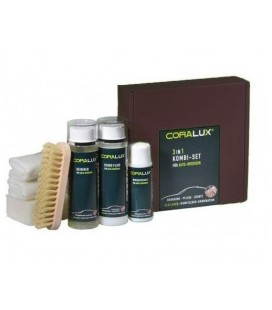 Coralux Care and Protection set for automotive leathers